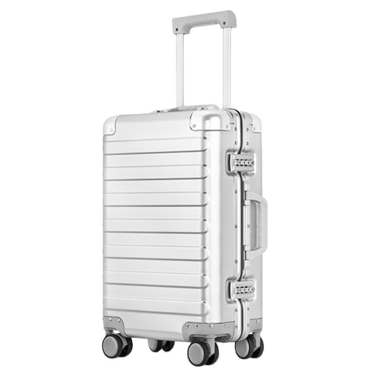 High quality luggage trolley suitcase waterproof 20 22 inch aluminium cabin luggage trolley case