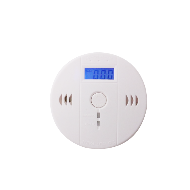 9V independent smoke alarm safety monitoring sensor device sound large shell hard test family hotel house kitchen