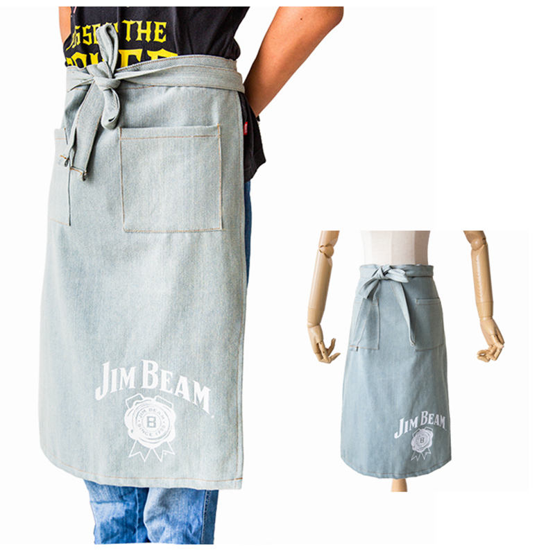 Adjustable Durable Garden Workshop Canvas Tool Apron with Multi Pockets for Men and Women