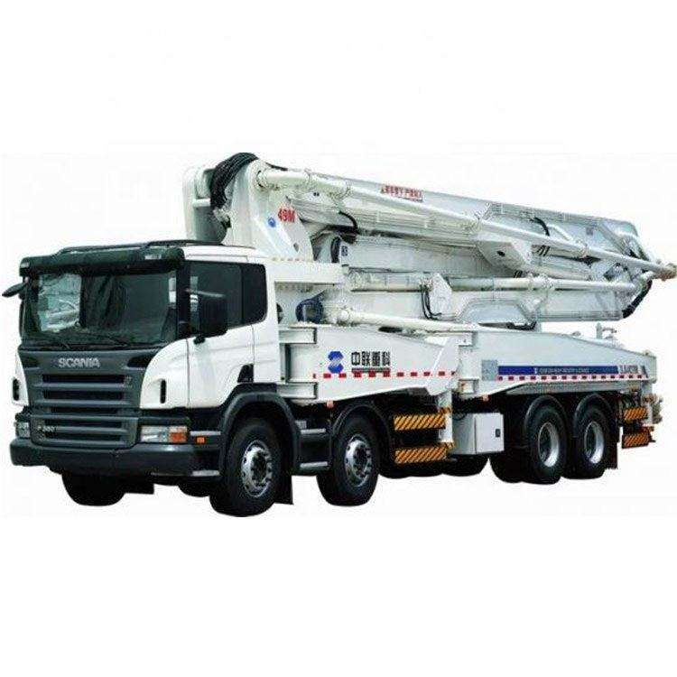 ZOOMLION 49m Used Concrete Hydraulic Pump Pumping Machine Truck For Sale 49X-6RZ
