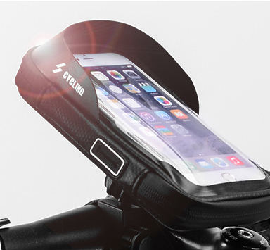 Waterproof Touch Screen Bicycle Cycling Bags Handlebar Front Phone Frame Accessories Holder Bike Bag