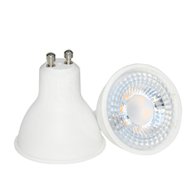 5W CE ROHS Reliable high luminaire plastic aluminum bulb AC85-265V GU10 GU5.3 led spotlight