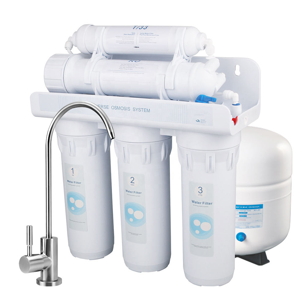 Under Sink Reverse Osmosis Drinking Water Filter System