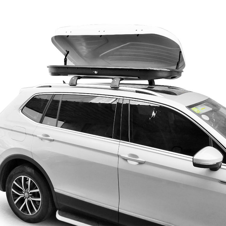 530L Custom Logo Cargo Box Roof Waterproof Luggage Carry Universal Car Roof Cargo Box