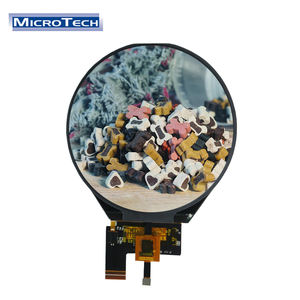 ILI9881C 3.4 Inch Circular Screen with 39 pin 800x800 Resolution Round LCD Touch Display for Multifunctional Mirror