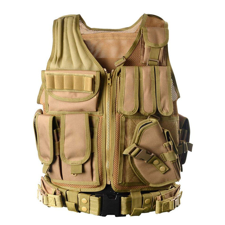 Customized Outdoor Molle Camouflage Ultra-Light Breathable Combat Training Military Tactical Vest