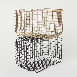OEM Metal Wire Basket with Handle