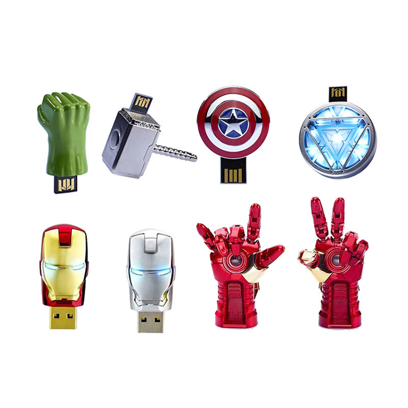 customized design avengers usb flash drive USB 2.0 Flash Pen Drive Thumb Drive