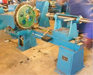 Used small aluminum metal spinning forming machine price
