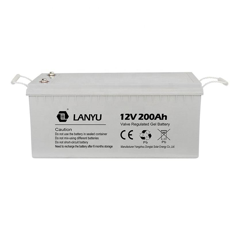 Deep cycle 12v 24v 48v 100ah 150ah 180ah 200ah solar agm gel battery