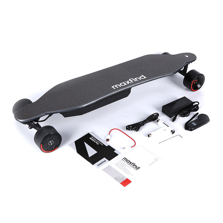 China Factory Wholesale High Performance Replaceable Battery Intelligence System Auto Electric Skateboard with Warranty
