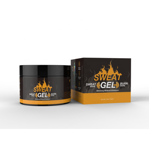 Private Label Sweat Gel Loss Weight Workout Enhancer Cream With Coconut Oil Fat Burning Slimming cream