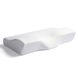 Pillow Memory Foam Contoured Orthopedic Pillow Contour Anti Snore Washable Portable Cervical Sleeping Bed Pillow Camping Customized Orthopedic Memory Foam Pillow