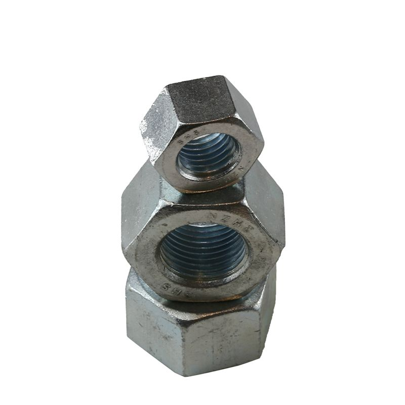50mm Nut Astm A194 2h Heavy zinc plate Hex Nuts