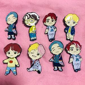 K-Pop Bts Bangtan Jongens Huis Van Bts Pop-Up Winkel Taejeong Broche Re Pop Metalen Badge Emaille pin