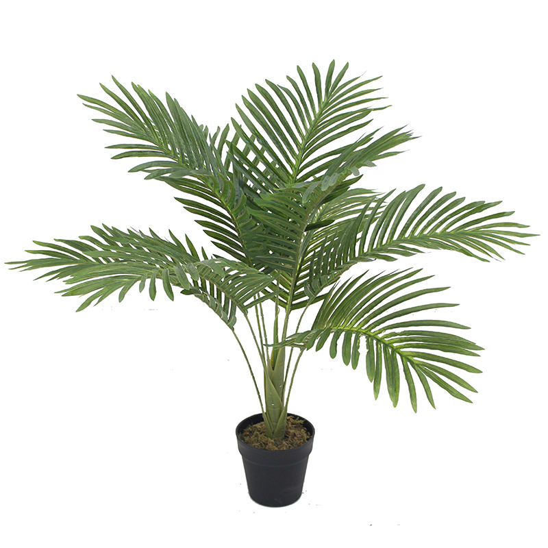 Artificial Areca Palm Tree UV Resistant for Indoor and Outdoor Decoration Faked Palm Tree Plants for Shipping Mall Sale