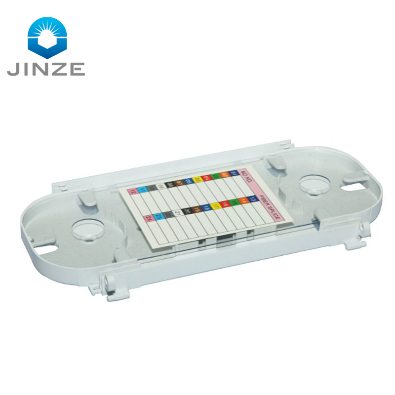 FTTx 12 24 core fiber splice cassette module splice tray abs plastic 12 24 core ftth optical splice tray for ODF terminal box
