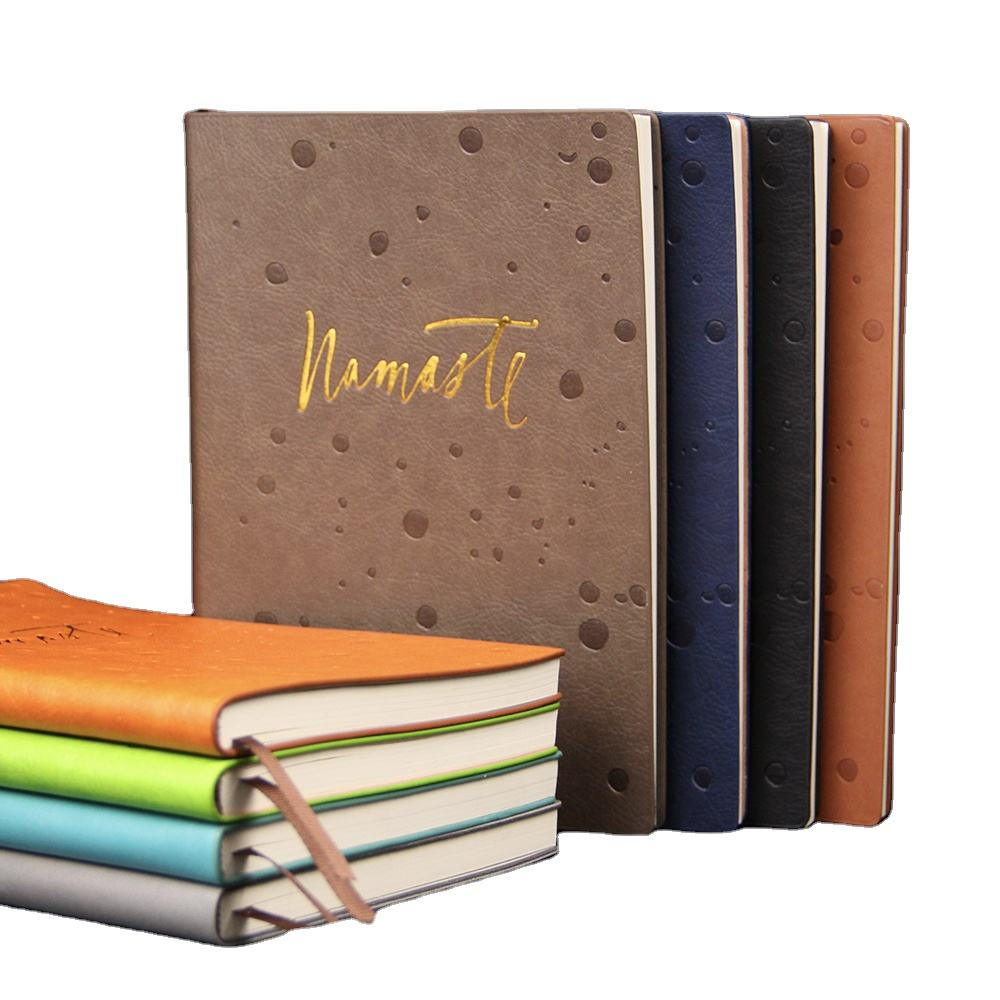 2020 Custom Notebook Leather Embossed Diary Planner