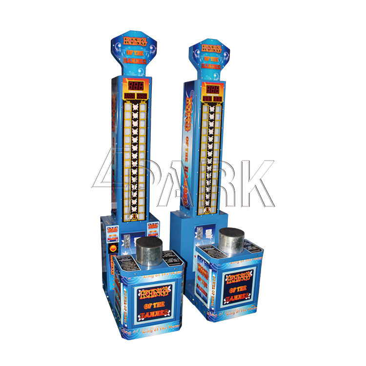 Muntautomaat Vaardigheid Game Punch Hamer Game Machine Epark Prijs Verlossing Arcade Game