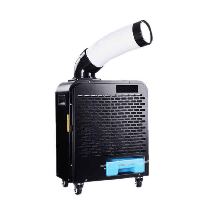 Industrial Portable Free Installation Foot Standing Air Cooler Air Conditioner 6800BTU 2KW 3L for factory
