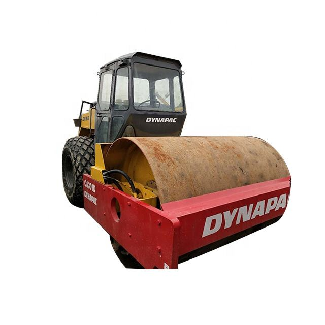 Used Road Roller Dynapac CA25 CA301D for Sale Single Double Drum Roller Second Hand Germany Brand