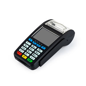 Wireless mobile handheld POS terminal with thermal printer and NFC magnetic card chip card reader