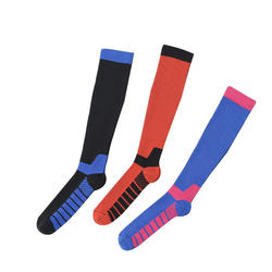 For men and women nylon compression stockings breathable sports socks football tennis socks