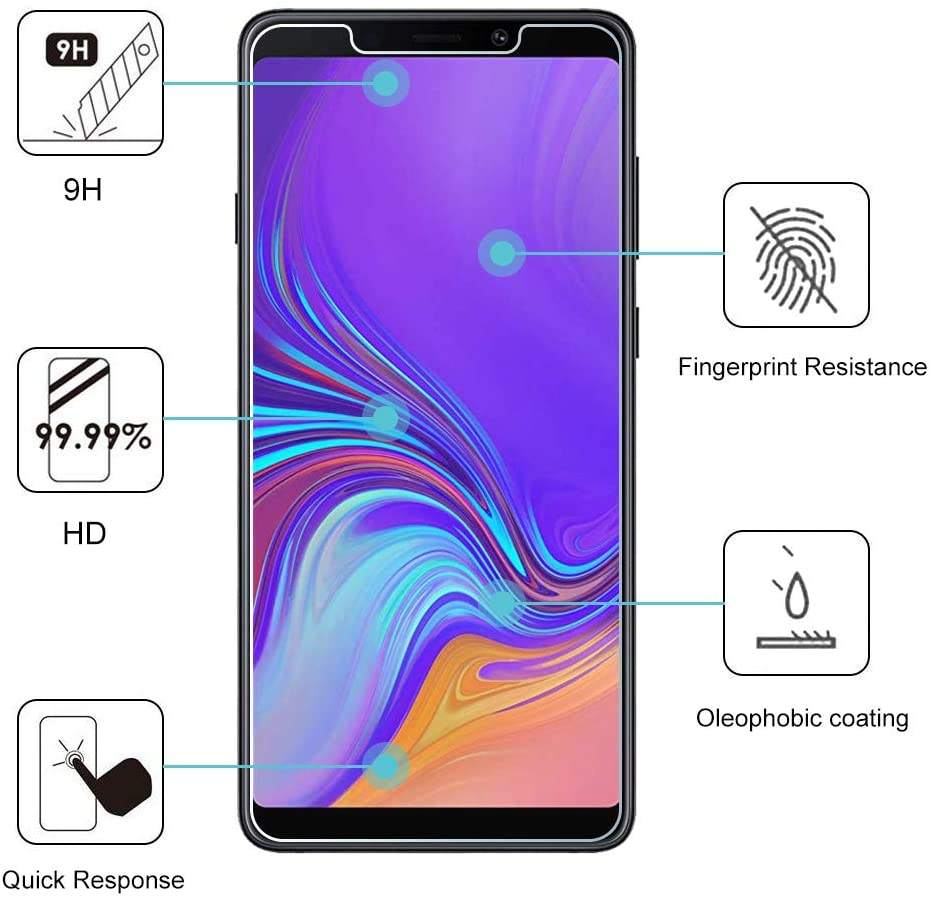 For Samsung Galaxy A6S A8S S10E S10 LITE Screen Protective Glass Film tempered glass packing box 9H Tempered Glass