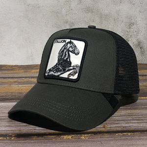 High quality wholesale in stock grizzly image patch animal swimming caps