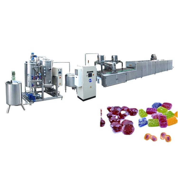 Factory price soft candy production line jelly candy making machine with CE certification