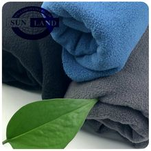 20 AW winter blanket jacket clothing 100% polyester micro polar fleece 300gsm two side brushed two side anti pilling