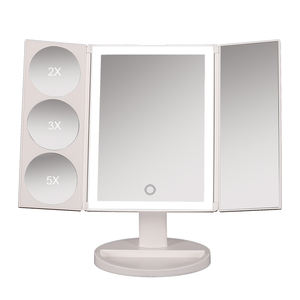 Lighted Makeup Mirror With Magnification/Vanity Mirror with Lights