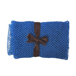 Custom Skin Exfoliating Back Long Sponge Nylon Mesh Exfoliat