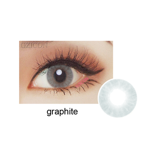 Fancy color HD graphite contact lens new look super natural colored contact lenses