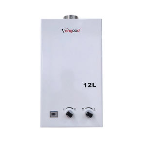 China Manufacturer Digital Temperature Controller Instant Shower Gas Hot Bathroom Water Heater