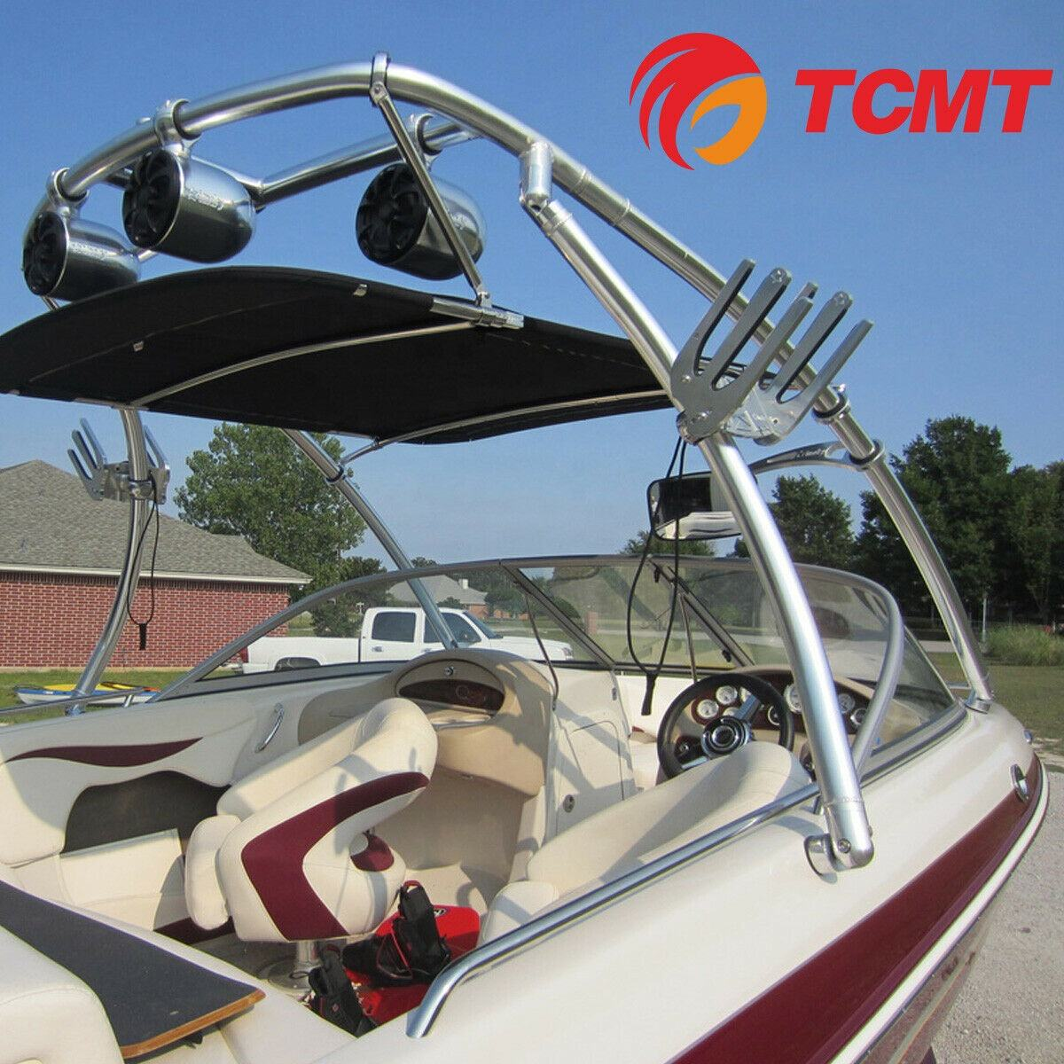 Bat Rack Wakeboard Tower Boat Board Racks Tower Clamped Size Available 2 3//8