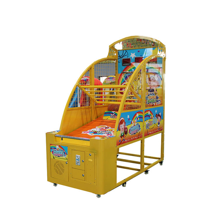 EPARK Kids coin operated geel <span class=keywords><strong>basketbal</strong></span> <span class=keywords><strong>arcade</strong></span> <span class=keywords><strong>game</strong></span> <span class=keywords><strong>machine</strong></span> voor pretpark