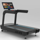 Commercial Treadmill gym fitness equipment/running machine/ manual treadmill with big TV and 14