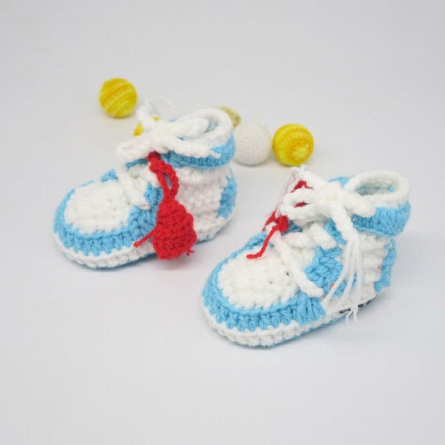 2020 new style crochet booties baby kids sneakers shoes