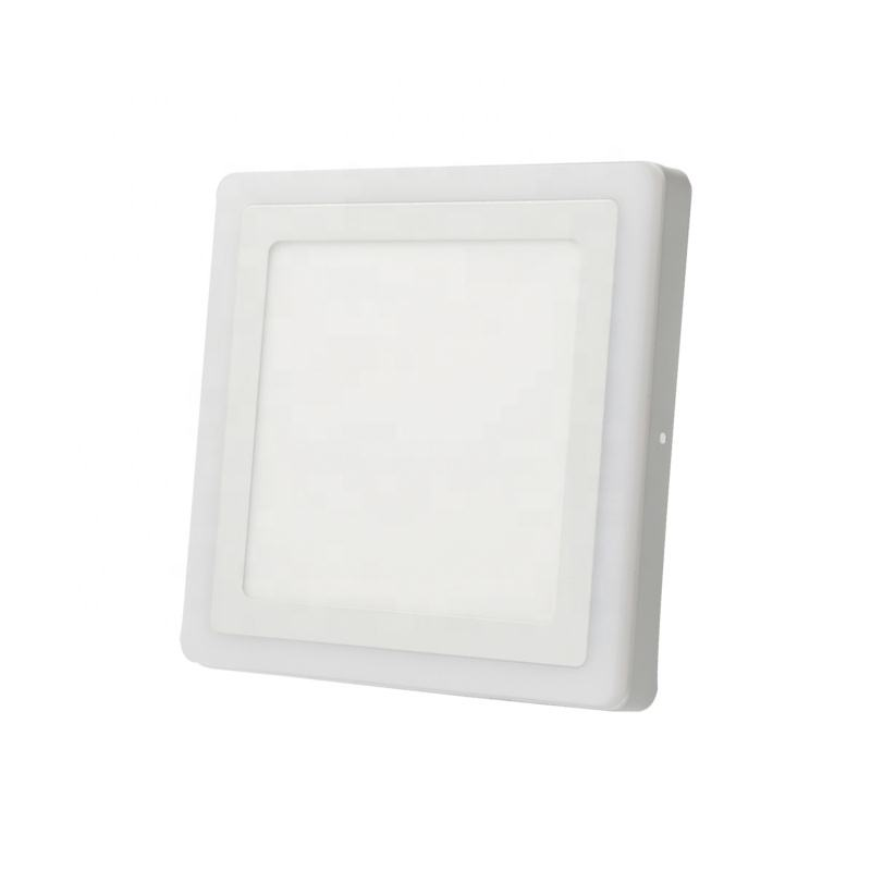 two color led panel light 8w light panels Nano leaf square led panel