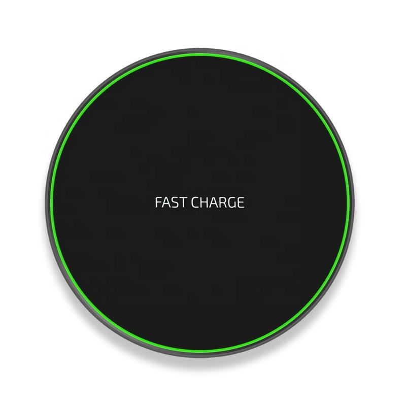 10W Fast Wireless Charger for iPhone X Xs MAX XR 8 plus Charging for Samsung S8 S9 Plus Note 9 8 USB Phone Qi Charger Pad