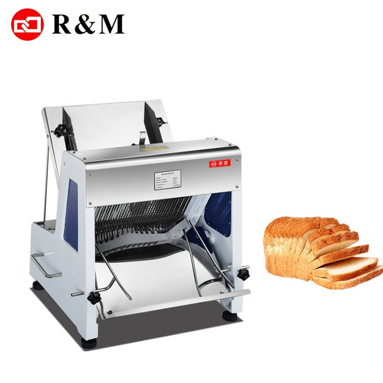 Mechanical Toast Slicing Machine, Adjustable Electric Bread Slicer