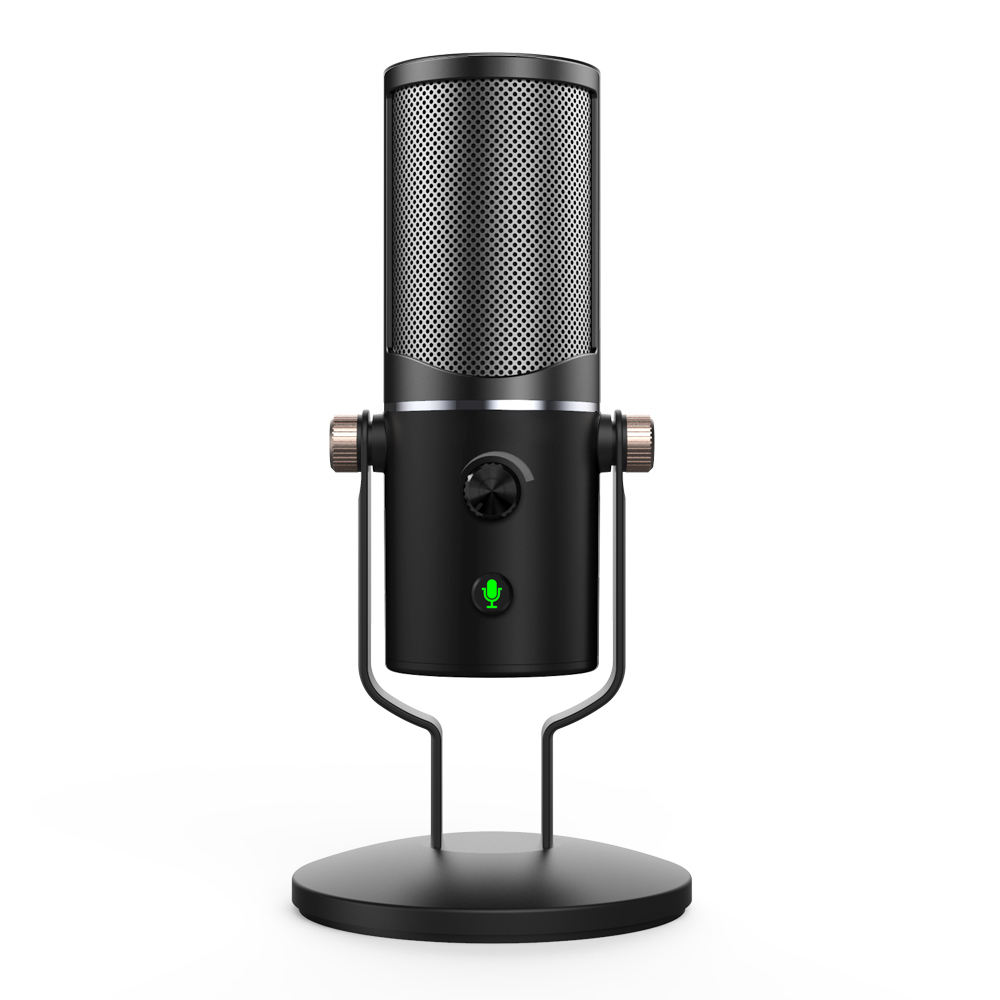 M10 D'OEM <span class=keywords><strong>USB</strong></span> Micro À Condensateur Streaming Podcast Micro Studio Cardioïde pour Skype YouTube Gaming D'enregistrement