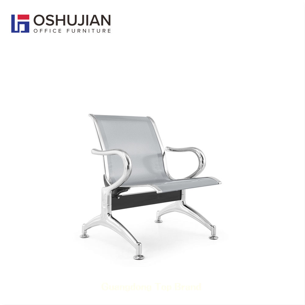 Hospital waiting area bench seating chair single
