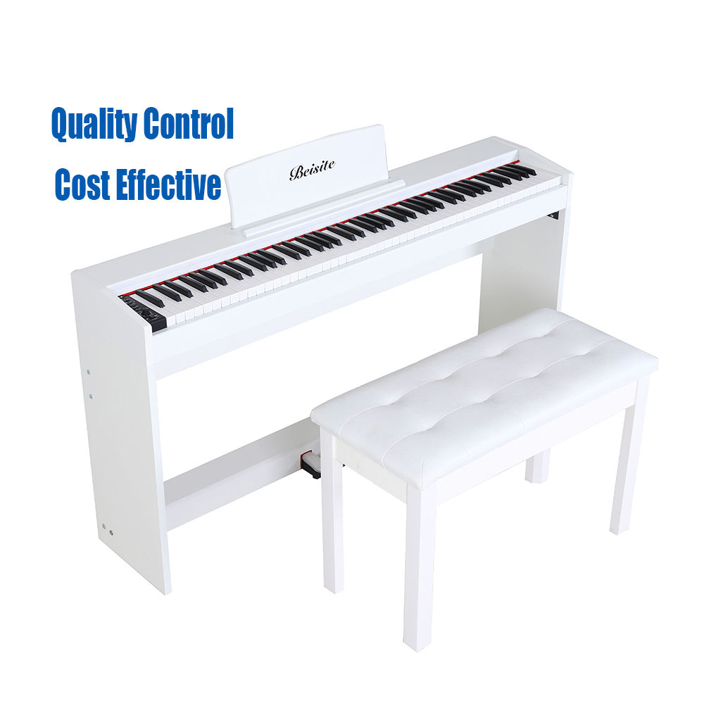 Music keyboard acoustic 88 keys upright keyboard piano electronic digital