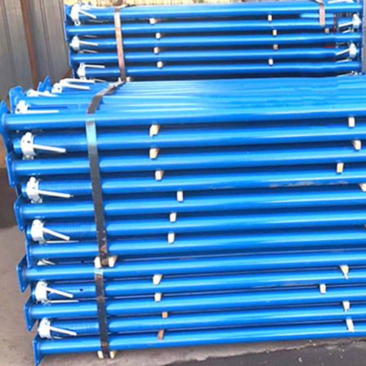 Easy Handle Building Scaffolding Falsework Props 4m 13ft 16ft Expandable Acrow Peri Scaffolding Building Support Props