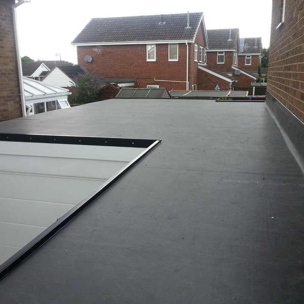 EPDM rubber roof, waterproof materials