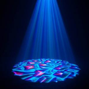 150W 4 Kleur Water Oscean Golf Rimpelingen Effect Led Party Disco Licht