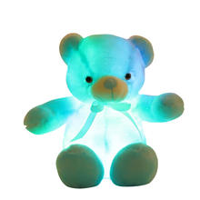Wholesale Plush Bear beautiful light Bear for Christmas kids Gift for decoration