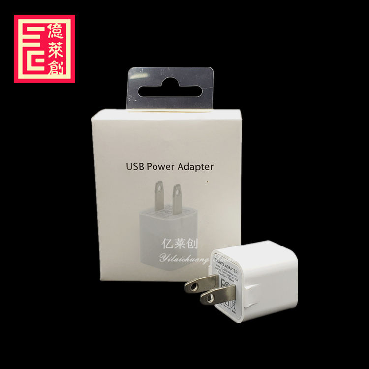 for iphone 5W US plug charger A1385/MD810 5V1A usb power adapter for samsung for iPhone 7 8 plus X XS MAX XRs charger